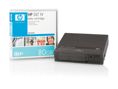 Hewlett Packard - HP Hp Dlt Iv Data Cartridge, 40/