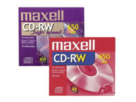 Maxell Cd-Rw X 10 / 700 Mb / Storage Media