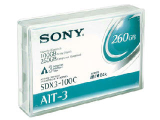 Sony Ait X 1 - 100 Gb / 260 Gb - Ait-3 - Storage M