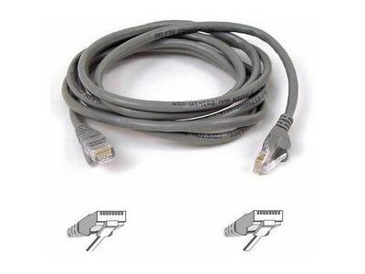 Belkin Cat5E Snagl Patch Cbl Rj45M/Rj45M 20Grey
