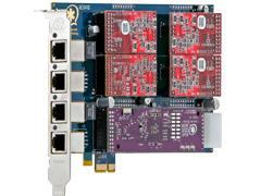 Digium 4 Prt Card 4 Trunk Ifc & Hw Echo Can