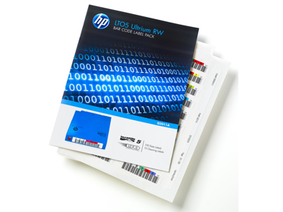 Hewlett Packard - HP Hp Lto-5 Ultrium Rw Bar Code