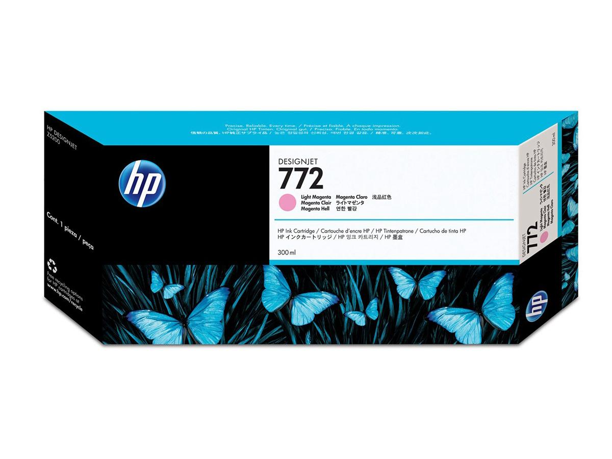 Hewlett Packard - HP Hp 772 300Ml Lt Magenta Dj In