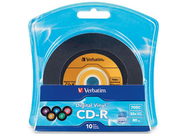 Verbatim Digital Vinyl Cd-R 80Min 700Mb 10Pk Blist