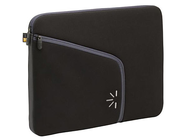 Case Logic 13 Laptop Sleeve W/ Powerpocket - Black