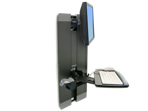 Ergotron Sv Vertical Lift Pr Black