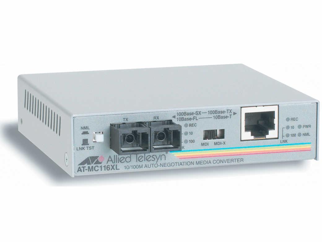 Allied Telesis 10/100Tx-10Fl/100Sx Sc Med Univpwr