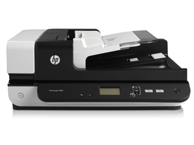 Hewlett Packard - HP Flatbed Scanner - Desktop - U