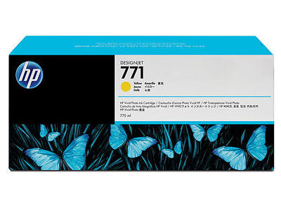 Hewlett Packard - HP Hp 771 775-Ml Yellow Designje