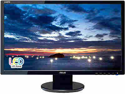 Asus Ve247H 23.6In Wide Led 2Ms