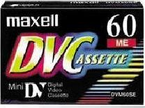 Maxell Mini Dv Tape - 1 X 60Min - Metal Bias
