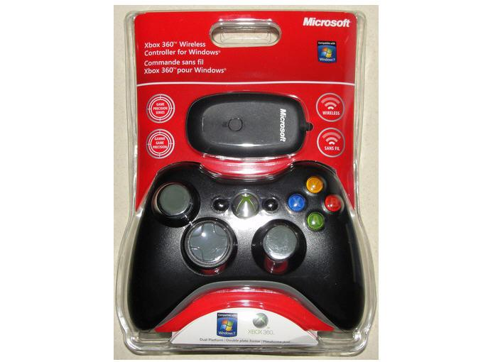 Microsoft JR9-00011 Xbox 360 Wireless Controller For Windows - Game Pad - Wireless - 2.4 Ghz - Black - For ...
