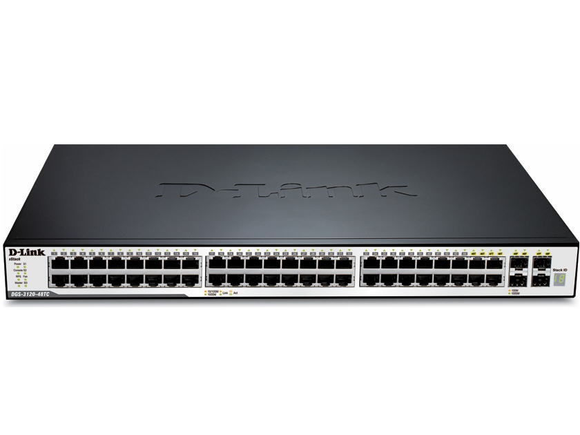 D-Link Xstack Managed 24-Port Gigabit Stackable L2