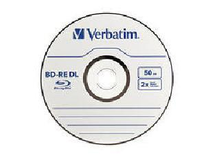Verbatim Bd-Re Dl 50Gb 2X Branded 1Pk Jewel Case