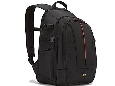 Case Logic Nylon - Black/Red - 17.3 Inch - 11.4 In