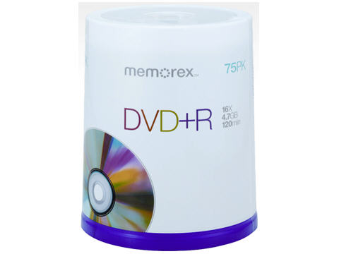Imation Dvd+R 4.7Gb 75 Pack Spindle