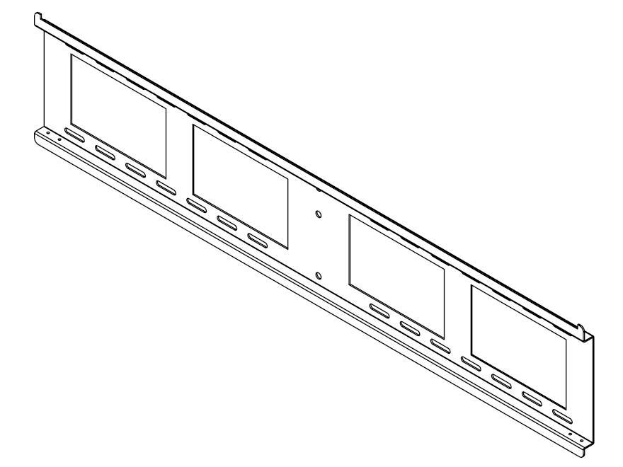 Peerless Linear Display Kit, Wall Plate 36
