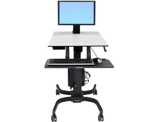 Ergotron Workfit-C, Single Ld Sit-Stand Wkstn