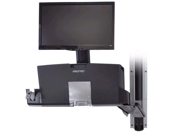 Ergotron Styleview Sit-Stand Combo Arm With Worksu