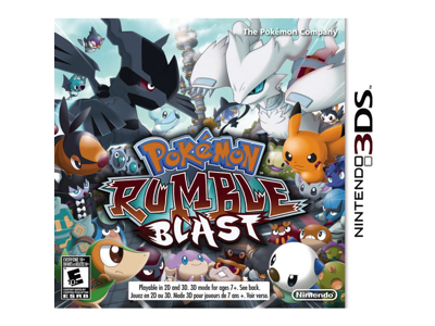 Nintendo 3Ds Pokemon Rumble Blast