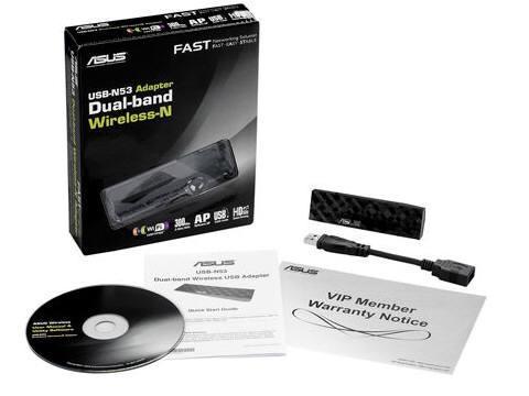 Asus Usb-N53 802.11 N300 Dual Band Usb