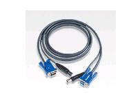 Aten Keyboard / Video / Mouse (Kvm) Cable - Db-15(