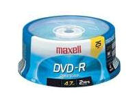 Maxell Dvd-R 4.7 Gb 16X - Spindle - Storage Media