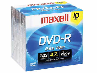 Maxell Dvd-R ( G ) 4.7 Gb ( 120 Min ) 16X - Storag