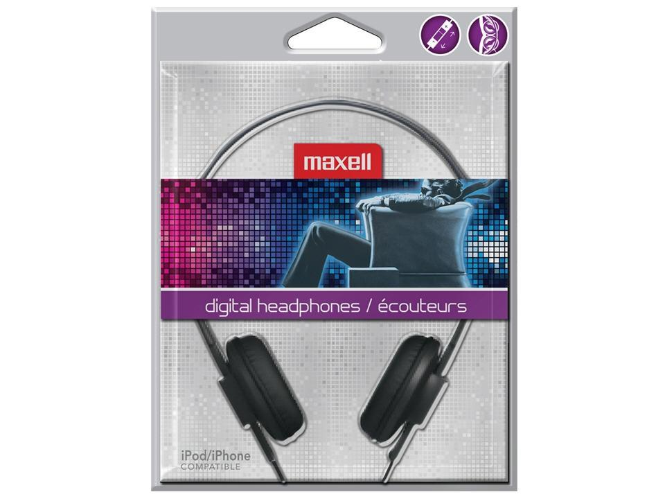 Maxell Hp-700F - Headphone - Portable Audio System