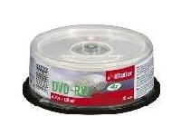 Imation Qty 4: 25Pk Dvd-Rw 4X 4.7Gb Spndl