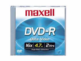 Maxell Maxell - Dvd-R 4.7 Gb 16X - Storage Media