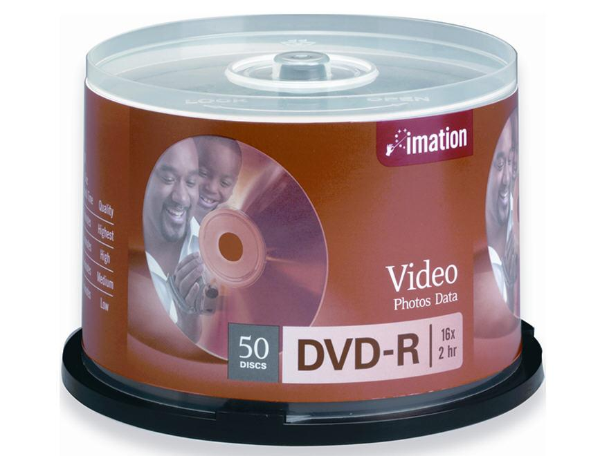 Imation Imation Storage Media - Dvd-R - 16X 4.7 Gb
