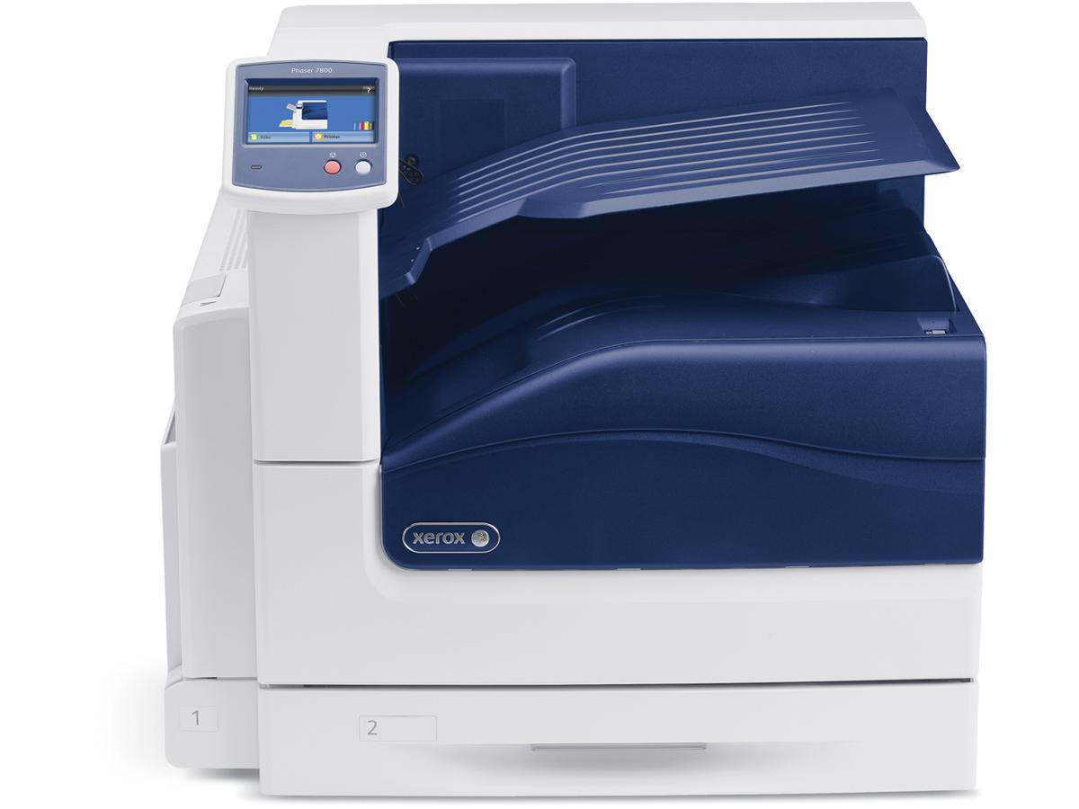 Xerox Phaser 7800Dn;  12 X 18 Color Printer, Up To