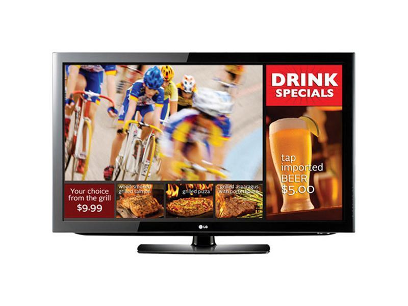 LG Ezsign Tv - Digital Signage Function With Free