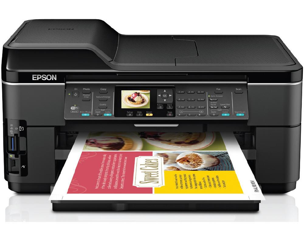 Epson Workforce Wf-7510 - Multifunction - Color -