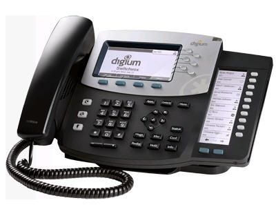 Digium Ip Phone, D70 6-Line Sip With Hd Voice, Eng