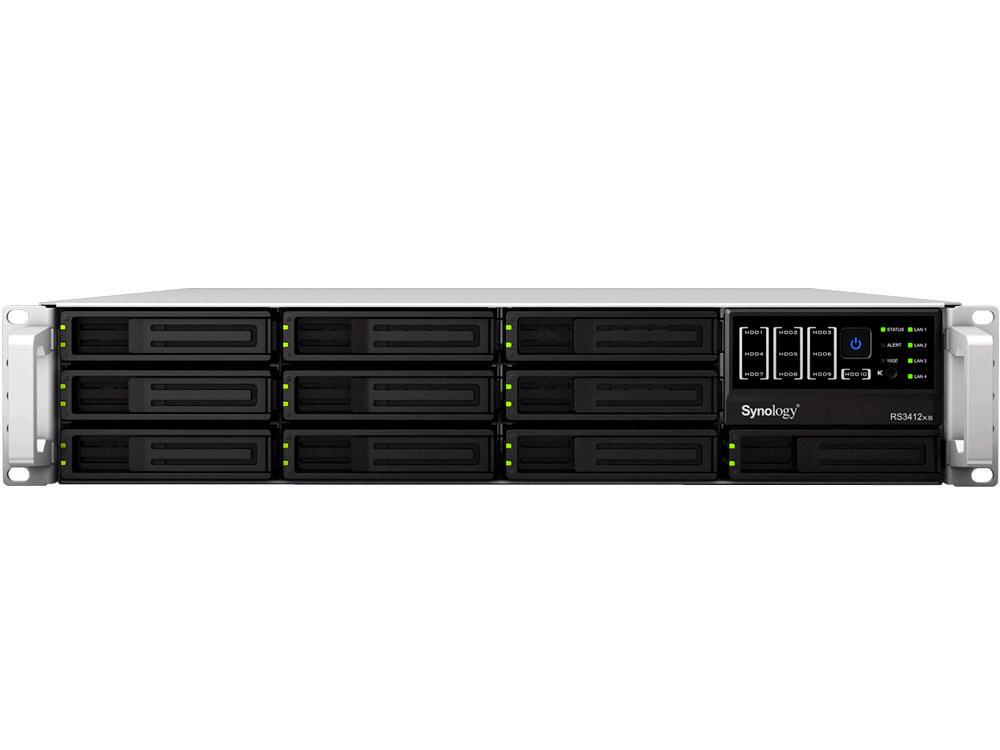 Synology Rackstation Rs3412Rpxs, Ultra-High Perfor