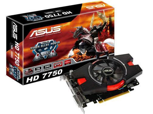 Asus Hd7750-1Gd5-V2, Amd Radeon Hd 7750, Pci Expre