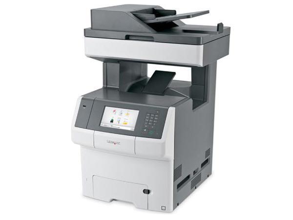 Lexmark X746De - Laser Printer - Color - Laser - P