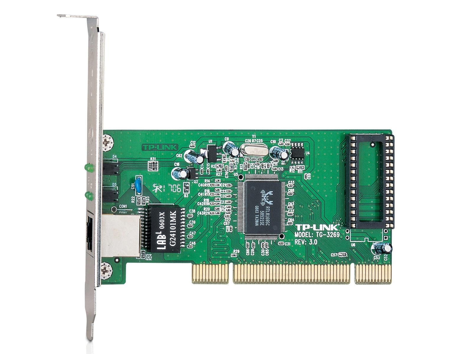 TP-Link Network Adapter - Plug-In Card - Pci;Rj-45
