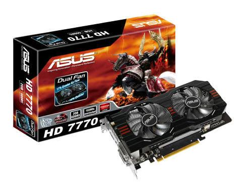 Asus Hd7770-2Gd5, Amd Radeon Hd 7770, Pci Express