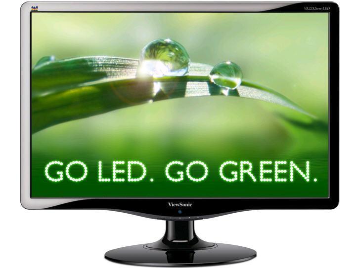Viewsonic Led Display - Tft Active Matrix - 22 Inc