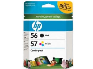 Hewlett Packard - HP Hp 56/57 Combo Pack Print Car