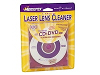 Imation Cd/Dvd Laser Lens Cleaner 6 Brush With Aud