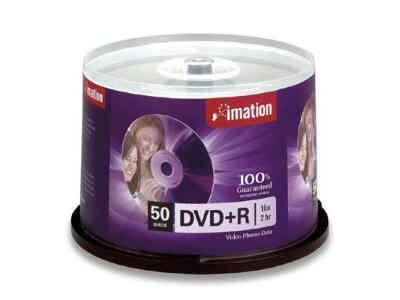 Imation Disc, Dvd+R, 4.7Gb For General Use,16X