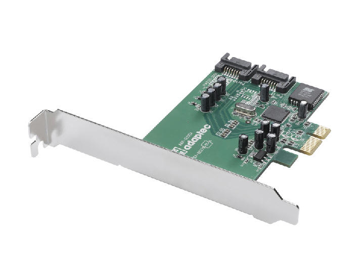 Контролер Raid SATA Adaptec 1220SA 2-port Serial ATA RAID 0, 1 (PCI Ex). У