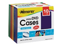 Imation Storage Mini Dvd Case - Polypropylene - Bl