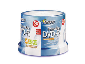 Imation Dvd-R 4.7Gb Spndl Printable 50Pk