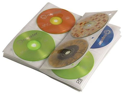 Case Logic CDP-200 - Protective sleeve - For CD's