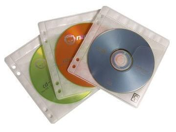 Case Logic 50 Prosleeves Double-Sided Cd Storage S